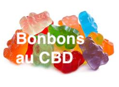 Bonbons au CBD