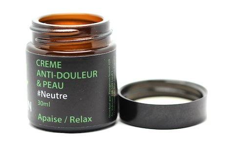 Baume massage anti douleur et peau